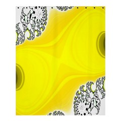 Fractal Abstract Background Shower Curtain 60  X 72  (medium)  by Amaryn4rt
