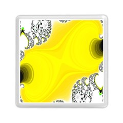 Fractal Abstract Background Memory Card Reader (square)