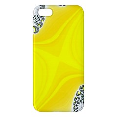 Fractal Abstract Background Apple Iphone 5 Premium Hardshell Case by Amaryn4rt