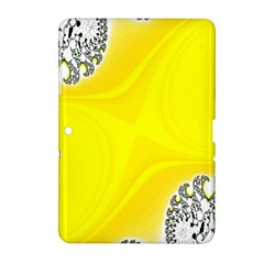 Fractal Abstract Background Samsung Galaxy Tab 2 (10 1 ) P5100 Hardshell Case  by Amaryn4rt