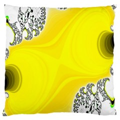 Fractal Abstract Background Standard Flano Cushion Case (one Side) by Amaryn4rt