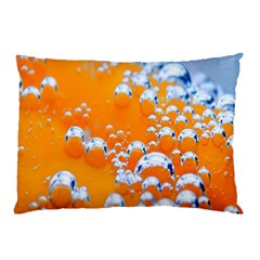Bubbles Background Pillow Case (two Sides) by Amaryn4rt