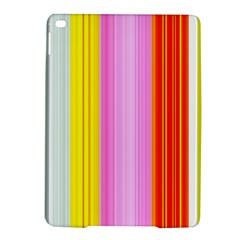 Multi Colored Bright Stripes Striped Background Wallpaper Ipad Air 2 Hardshell Cases by Amaryn4rt