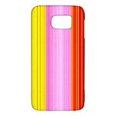 Multi Colored Bright Stripes Striped Background Wallpaper Galaxy S6 by Amaryn4rt