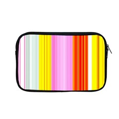 Multi Colored Bright Stripes Striped Background Wallpaper Apple Macbook Pro 13  Zipper Case