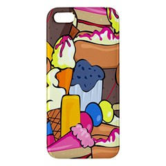 Sweet Stuff Digitally Created Sweet Food Wallpaper Iphone 5s/ Se Premium Hardshell Case by Amaryn4rt
