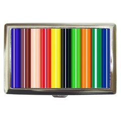 Colorful Striped Background Wallpaper Pattern Cigarette Money Cases