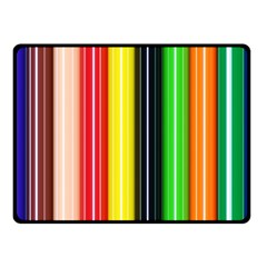 Colorful Striped Background Wallpaper Pattern Fleece Blanket (small) by Amaryn4rt