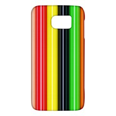 Colorful Striped Background Wallpaper Pattern Galaxy S6 by Amaryn4rt