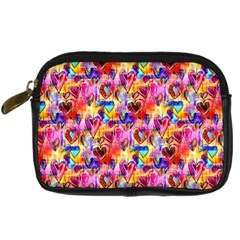 Spring Hearts Bohemian Artwork Digital Camera Cases by KirstenStar