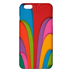 Modern Abstract Colorful Stripes Wallpaper Background Iphone 6 Plus/6s Plus Tpu Case