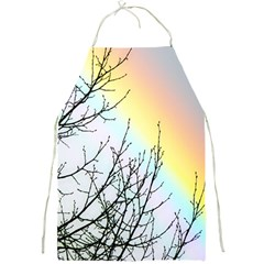 Rainbow Sky Spectrum Rainbow Colors Full Print Aprons by Amaryn4rt