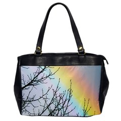 Rainbow Sky Spectrum Rainbow Colors Office Handbags by Amaryn4rt