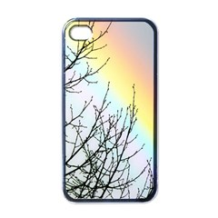 Rainbow Sky Spectrum Rainbow Colors Apple Iphone 4 Case (black) by Amaryn4rt