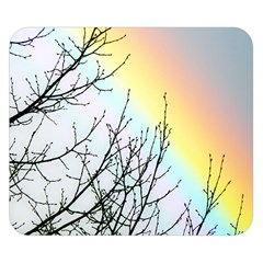 Rainbow Sky Spectrum Rainbow Colors Double Sided Flano Blanket (small)  by Amaryn4rt
