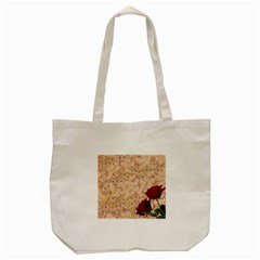 Retro Background Scrapbooking Paper Tote Bag (cream)