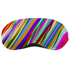 Multi Color Tangled Ribbons Background Wallpaper Sleeping Masks by Amaryn4rt