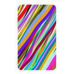 Multi Color Tangled Ribbons Background Wallpaper Memory Card Reader by Amaryn4rt