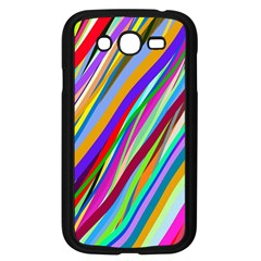 Multi Color Tangled Ribbons Background Wallpaper Samsung Galaxy Grand Duos I9082 Case (black) by Amaryn4rt