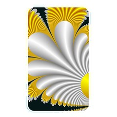 Fractal Gold Palm Tree On Black Background Memory Card Reader by Amaryn4rt