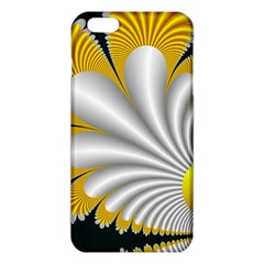 Fractal Gold Palm Tree On Black Background Iphone 6 Plus/6s Plus Tpu Case by Amaryn4rt