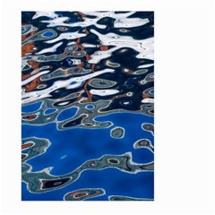 Colorful Reflections In Water Large Garden Flag (two Sides) by Amaryn4rt