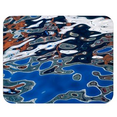 Colorful Reflections In Water Double Sided Flano Blanket (medium)  by Amaryn4rt