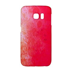 Abstract Red And Gold Ink Blot Gradient Galaxy S6 Edge by Amaryn4rt