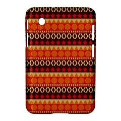 Abstract Lines Seamless Art  Pattern Samsung Galaxy Tab 2 (7 ) P3100 Hardshell Case  by Amaryn4rt