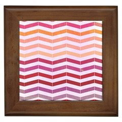 Abstract Vintage Lines Framed Tiles by Amaryn4rt