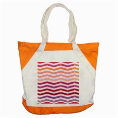 Abstract Vintage Lines Accent Tote Bag by Amaryn4rt