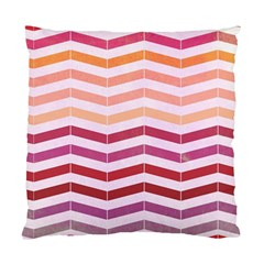 Abstract Vintage Lines Standard Cushion Case (one Side) by Amaryn4rt