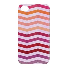 Abstract Vintage Lines Apple Iphone 4/4s Hardshell Case by Amaryn4rt