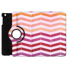 Abstract Vintage Lines Apple Ipad Mini Flip 360 Case by Amaryn4rt