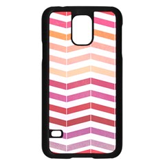 Abstract Vintage Lines Samsung Galaxy S5 Case (black) by Amaryn4rt