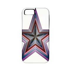 Star Abstract Geometric Art Apple Iphone 5 Classic Hardshell Case (pc+silicone) by Amaryn4rt