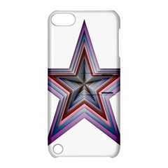 Star Abstract Geometric Art Apple Ipod Touch 5 Hardshell Case With Stand by Amaryn4rt