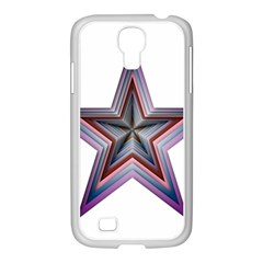 Star Abstract Geometric Art Samsung Galaxy S4 I9500/ I9505 Case (white) by Amaryn4rt