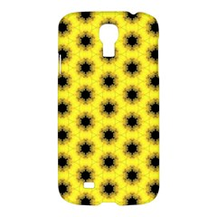 Yellow Fractal In Kaleidoscope Samsung Galaxy S4 I9500/i9505 Hardshell Case by Amaryn4rt