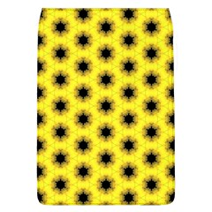 Yellow Fractal In Kaleidoscope Flap Covers (l)