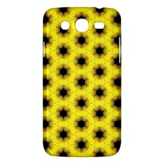Yellow Fractal In Kaleidoscope Samsung Galaxy Mega 5 8 I9152 Hardshell Case  by Amaryn4rt