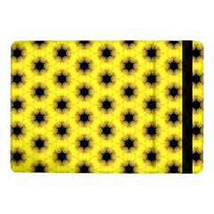 Yellow Fractal In Kaleidoscope Samsung Galaxy Tab Pro 10 1  Flip Case by Amaryn4rt