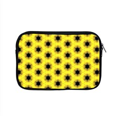 Yellow Fractal In Kaleidoscope Apple Macbook Pro 15  Zipper Case by Amaryn4rt