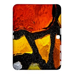 Colorful Glass Mosaic Art And Abstract Wall Background Samsung Galaxy Tab 4 (10 1 ) Hardshell Case  by Amaryn4rt