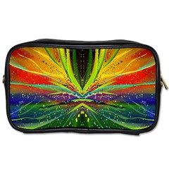 Future Abstract Desktop Wallpaper Toiletries Bags by Amaryn4rt