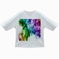 Colour Smoke Rainbow Color Design Infant/Toddler T-Shirts