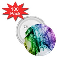 Colour Smoke Rainbow Color Design 1.75  Buttons (100 pack)