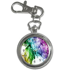 Colour Smoke Rainbow Color Design Key Chain Watches