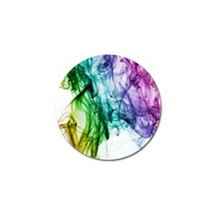 Colour Smoke Rainbow Color Design Golf Ball Marker (10 pack)