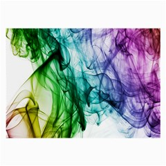 Colour Smoke Rainbow Color Design Large Glasses Cloth (2-Side)